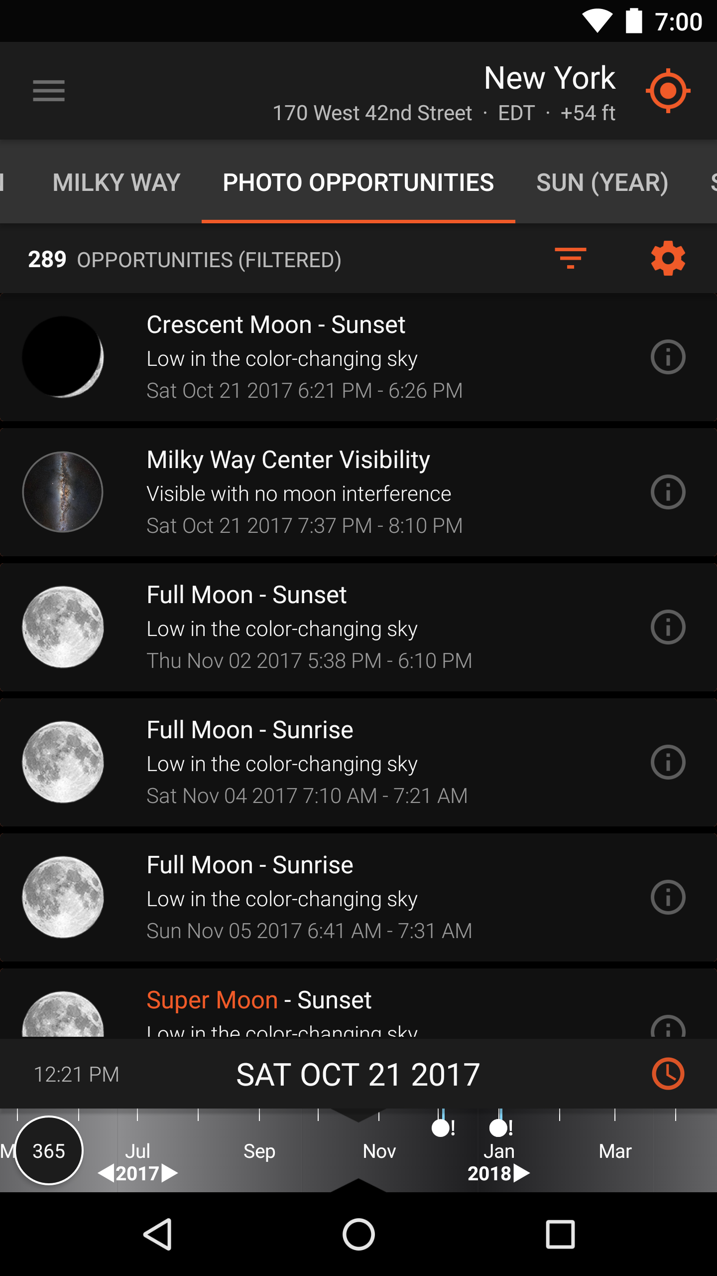 Sun Surveyor Moon Position Visualization And Tracking App The Best 038 Free Android Applications For Electronics Electrical Engineers Screenshot Photo Opportunities